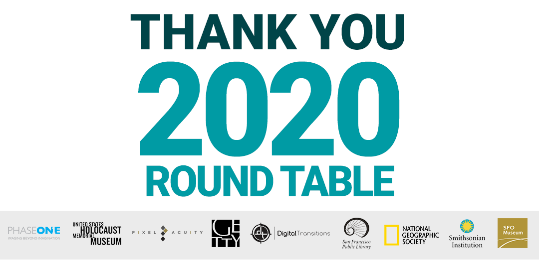 Thank You For A Remarkable Round Table!